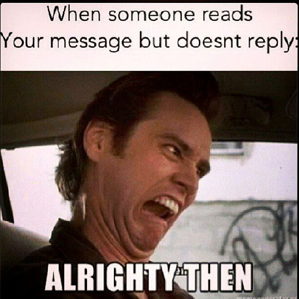 JIM CARREY---- @Abrianna Rodgers I do this everytime you dont text me back