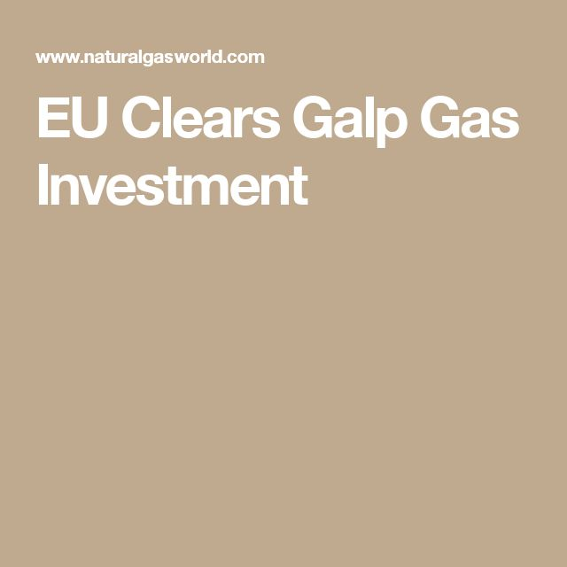 EU Clears Galp Gas Investment