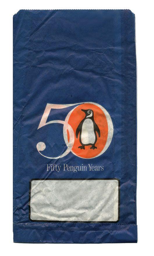 vintage paper bag design