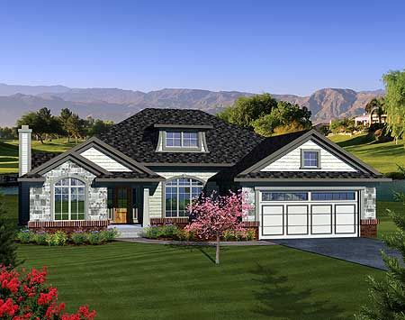 17 Best images about Ranch new house on Pinterest  House plans, Craftsman and Ranch remodel