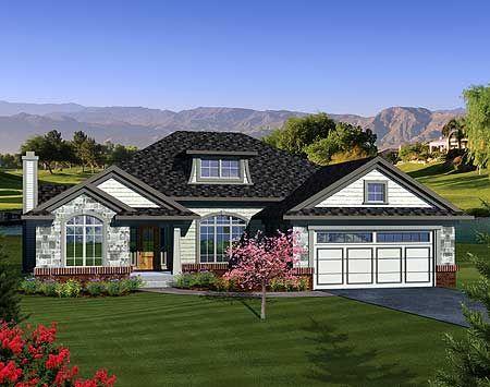 Plan 89845AH: Open Concept Ranch Home Plan
