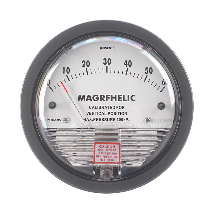 Micro Differential Pressure Gauge differential meter  differential pressure negative pressure meter  BarometerTE2000/-1~ 1kPA