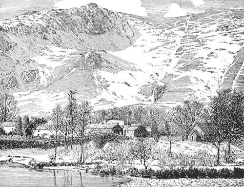 Grange in Borrowdale - A Wainwright