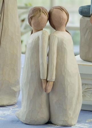 "Willow Tree Figurine- Two Alike... ""Celebrating a unique harmony"""