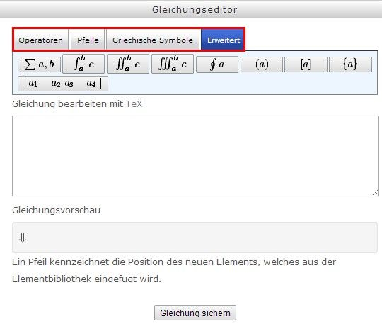 Moodle @erlerner HWR Berlin - all shiny all new with formula editor! #LaTex