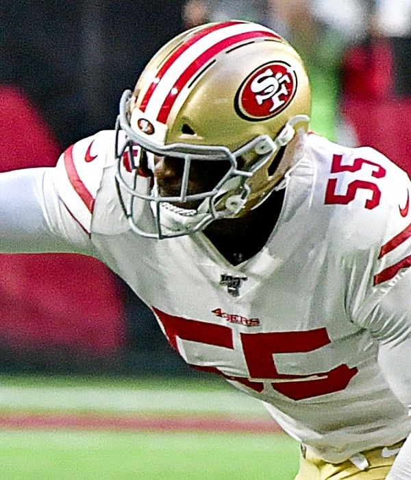 49ers Won T Make A Roster Move With Dee Ford Out Vs Packers Usa Today Sports American Football League 49ers