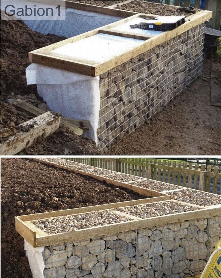 1093 best Gabion Ideas images on Pinterest Gabion wall