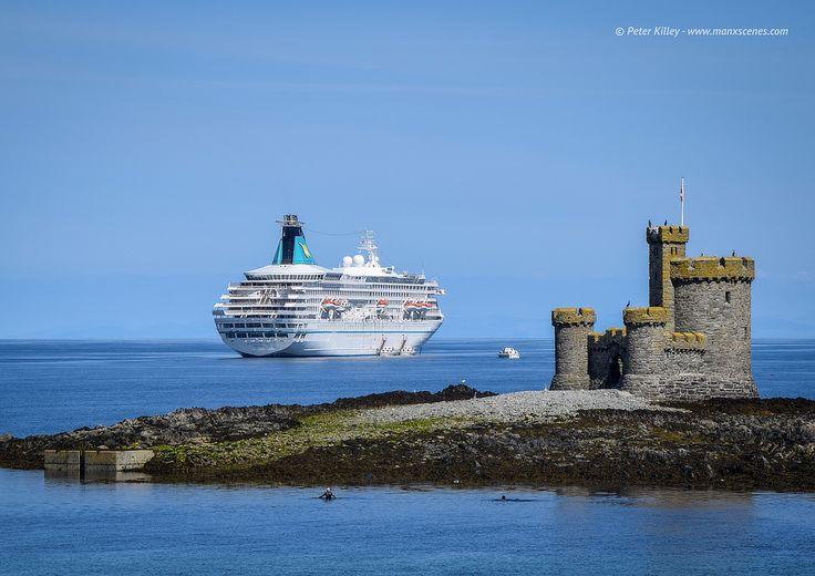 Cruise Ship Artania in Douglas Bay  © Peter Killey - www.manxscenes.com