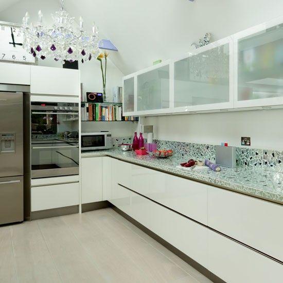 Glamorous modern kitchen