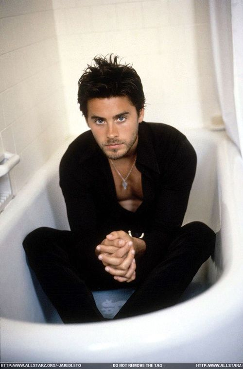 JARED LETO I'm just gonna' sit here and let all the girls drool...