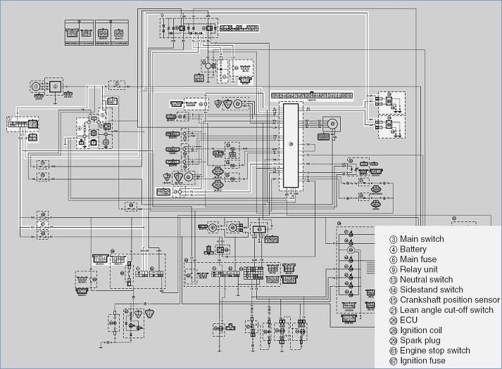 Yamaha Warrior Wiring Diagram