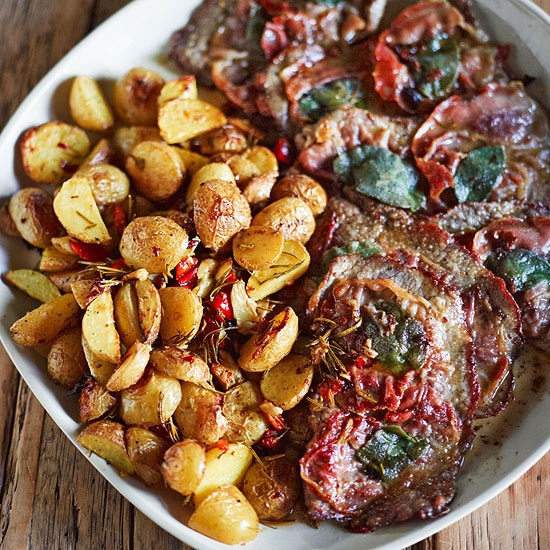 Rachael Ray's Veal Saltimbocca #RRItaly