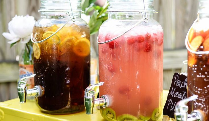 The Best Beverage Dispensers with Spigots 2017 #Summer