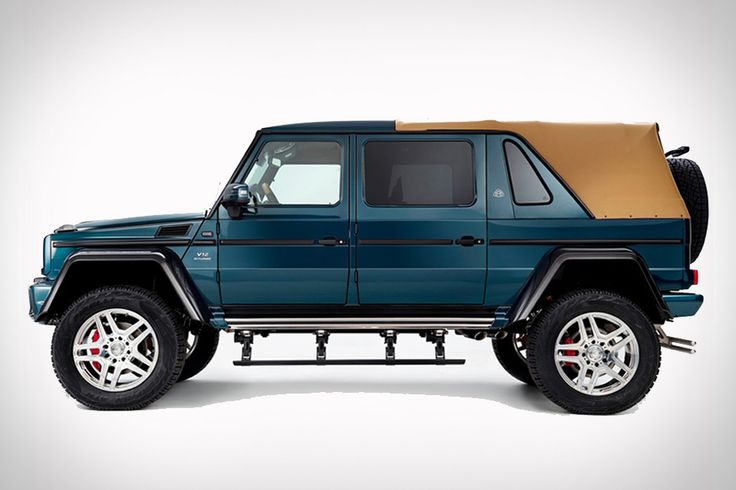 Using the G-Class as a base, the Mercedes-Maybach G650 Landaulet adds an off-road model to the luxury sub-brand. It's powered by a twin-turbocharged V12 engine, paired with a four-wheel-drive system to handle any terrain. Although the entire interior is covered...