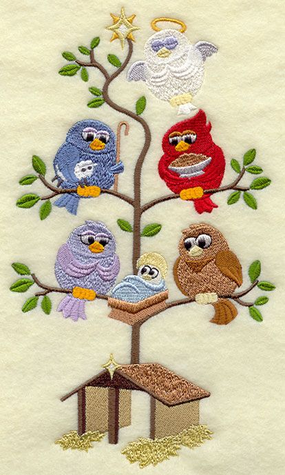 Machine Embroidery Designs at Embroidery Library! - Color Change - D8446