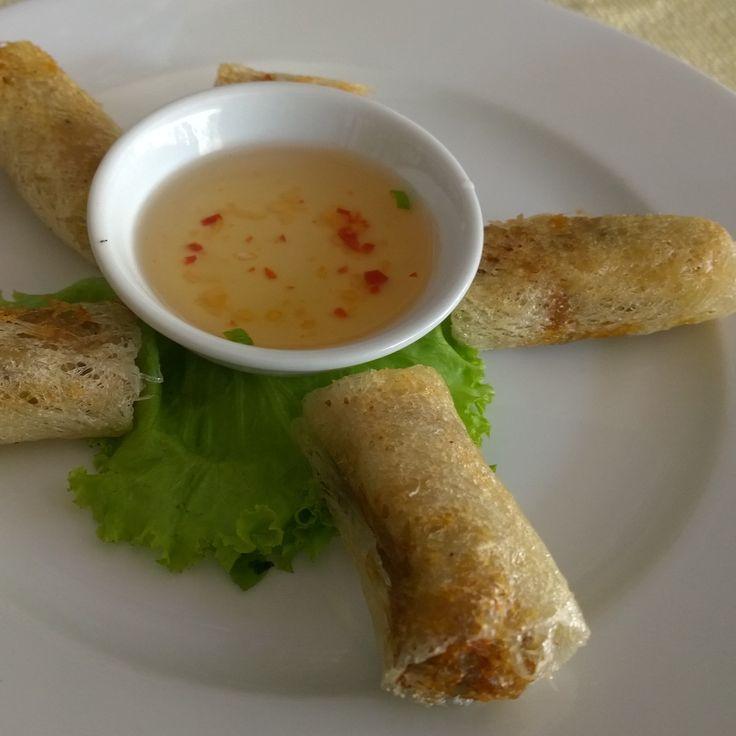 Vietnamese Spring Rolls #foodporn #foodies #nomnom #travel