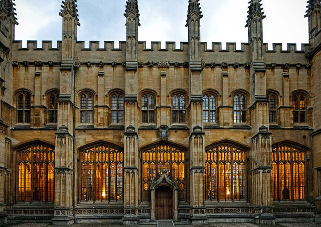 Divinity School, Bodleian Library, Oxford by sdhaddow, via Flickr