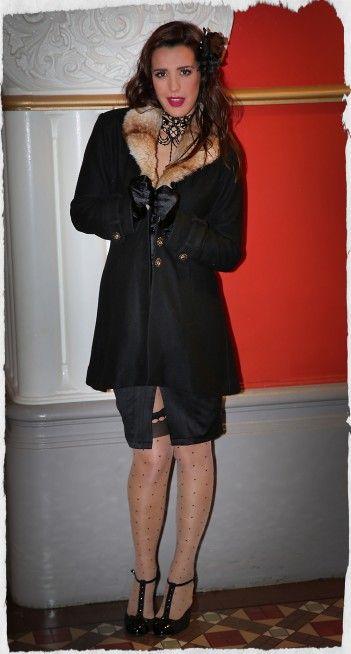 High Society Coat (Black)