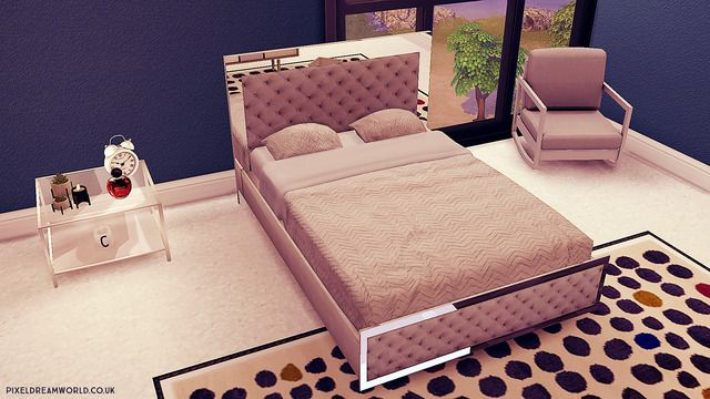 Pixeldreamworld In 2020 With Images Mirror Bed Quilted Bed Frame Bed Frame