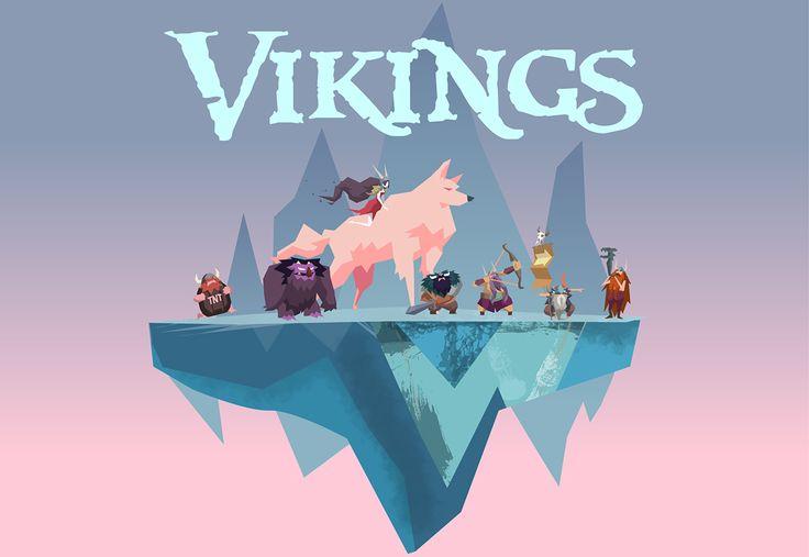 Vikings & Valkyrie on Behance