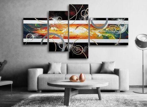 Abstrakt - Oljemålning - Spice Wind