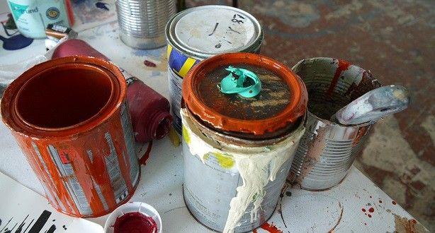 Comment éviter de mettre de la peinture sur le pot. - Truc de Grand-Mère