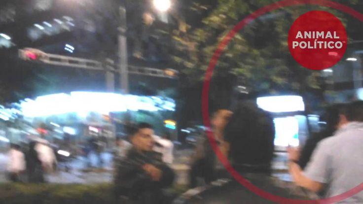 Policías de civil participando en disturbios del #1DMX; la SSP-DF lo niega