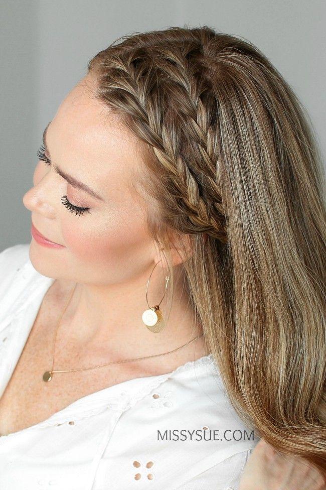 Doppelte Stirnband Französisch Zöpfe Frisuren Neuefrisuren