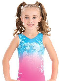 Anna and Elsa Snowflake Leotard from GK Elite