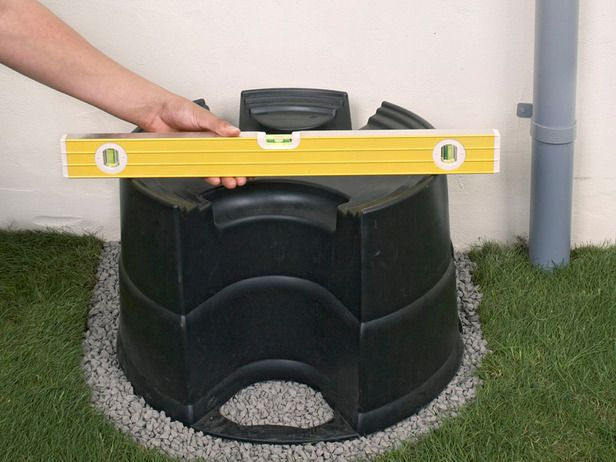 How to Build a Rainwater Diverter and Rain Barrel : Home Improvement : DIY Network