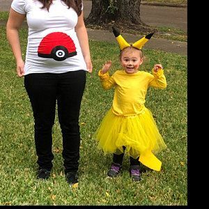 Pokeball Maternity Shirt Funny Maternity Shirt Pokemon shirt Pokemon go shirt Po…
