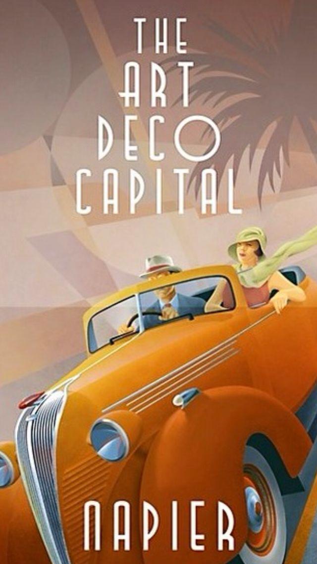 Art Deco Poster ~#Luxurydotcom