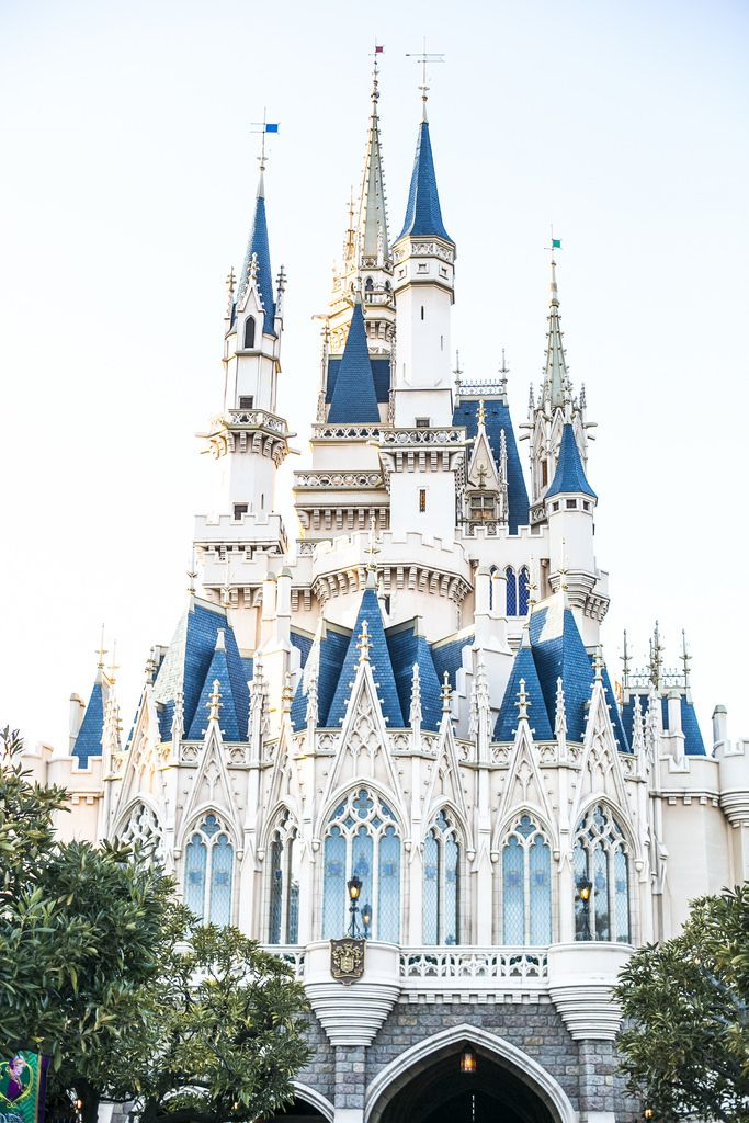 Tokyo Disneyland in daylight
