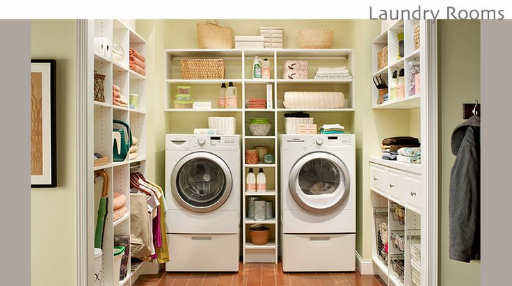 Craftsman Laundry Rooms | Call 310-997-0364 for a FREE in-home estimate