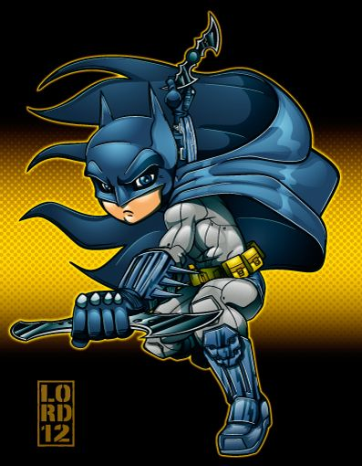 """Arkham City: Batman"" by Lord Mesa"