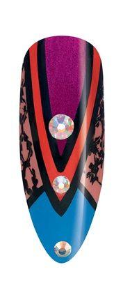 CND Paradise Nail Design: Macaw - Style - NAILS Magazine