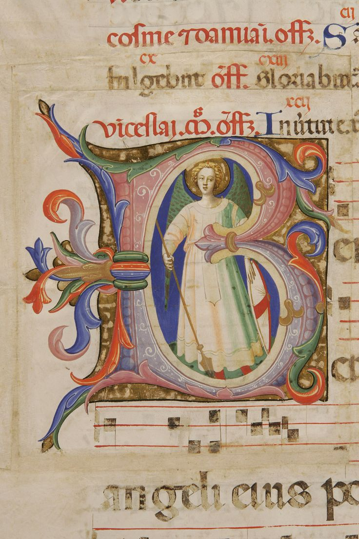 San Michele arcangelo autore: Beato Angelico  tecnica: tempera e pennello