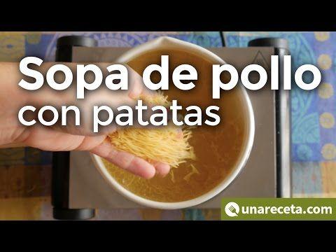 Sopa de pollo con patatas ¡Receta de la abuela!   #SopaDePollo #RecetasEnVídeo #RecetasDeSopas #Sopa #RecetasConPollo #CocinaTradicional #RecetasTradicionales