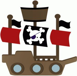 Silhouette Online Store - View Design #44760: pirate ship