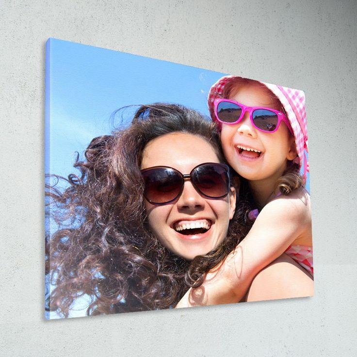 Tableau personnalisé sur Toile Canvas tendue Chassis bois - Format : 30 x 30 cm