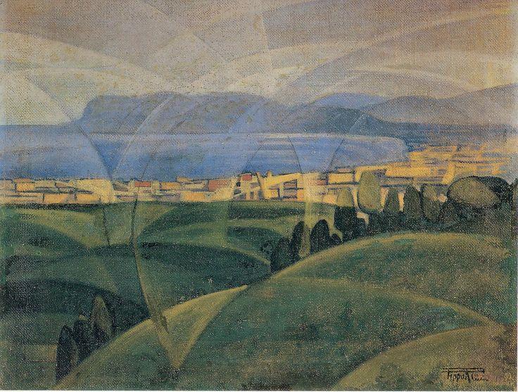 città futurista, 1929