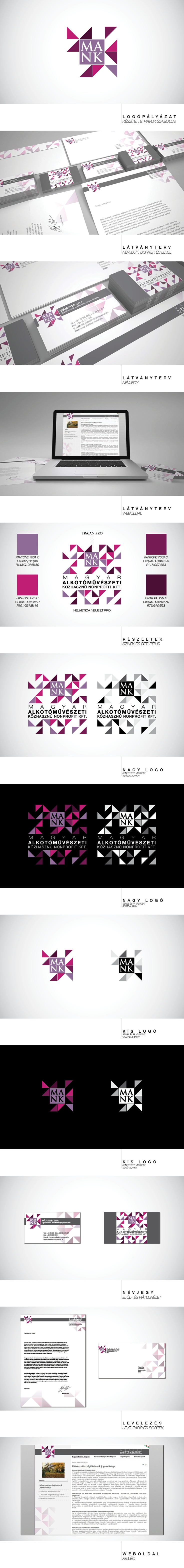 MANK, branding, acrulati pályázat, logo