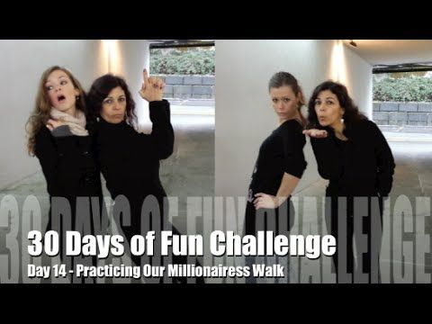 30 Days of Fun Challenge - Day 14 Practicing Our Millionairess Walk