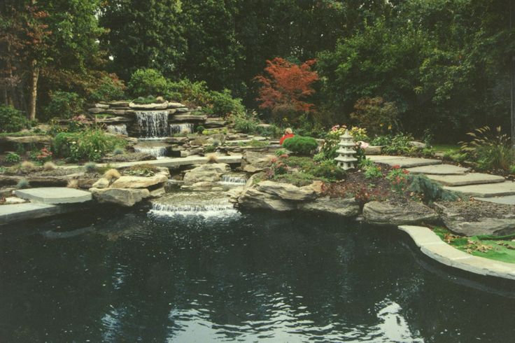 Landscape Boulders Orange County Ca : Best custom water feature swimming pools garden ponds and backyard landscaping images on