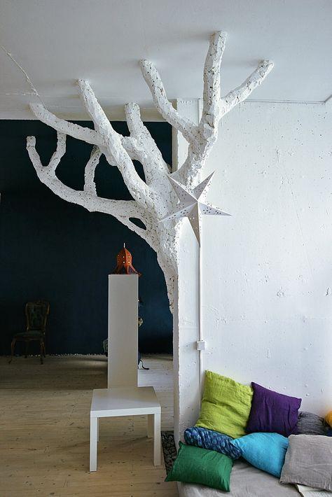 Как сделать дерево из пены фото 527