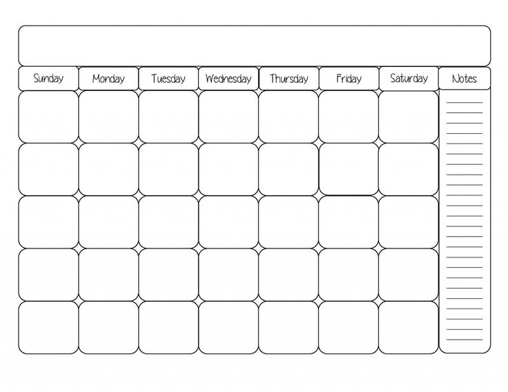 Art Calendar Template : Calendar clip art black and white pinterest