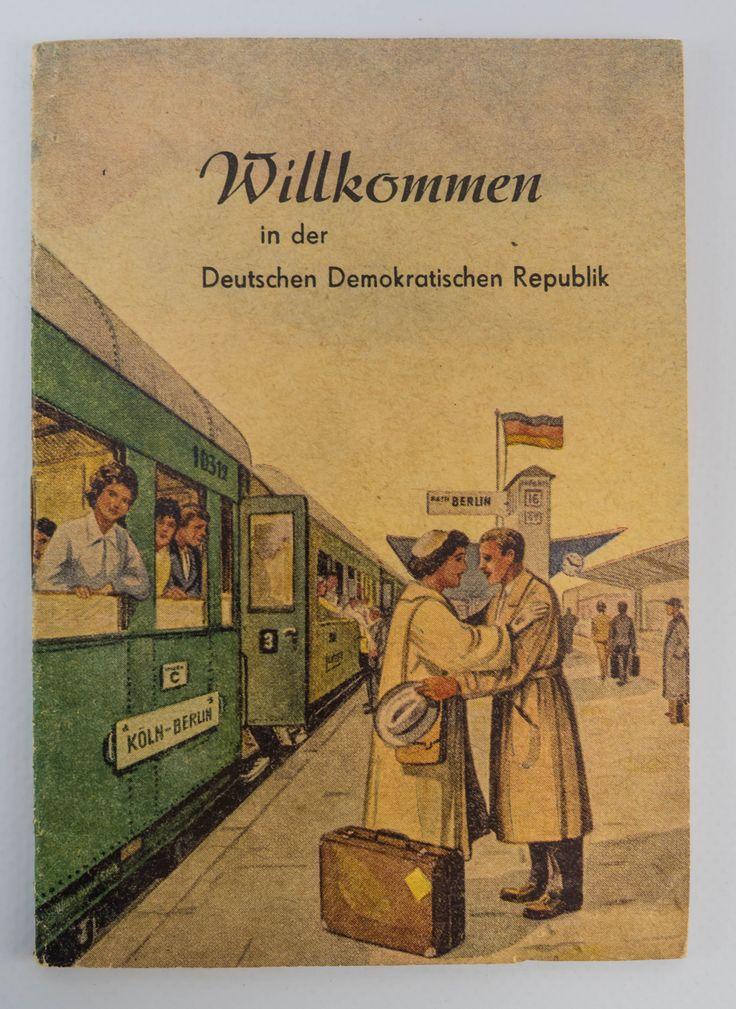 """DDR Museum - Museum: Objektdatenbank - """"Stadtplan Berlin"""" Copyright: DDR Museum, Berlin. Eine kommerzielle Nutzung des Bildes ist nicht erlaubt, but feel free to repin it!"""