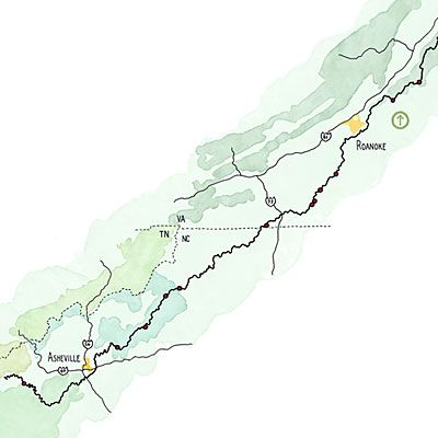 Southern Living's article on Secret Spots on the Blue Ridge Parkway