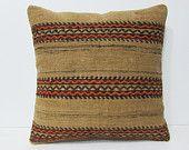 24x24 kilim pillow midcentury euro sham extra large pillow 24x24 pillowcase 60x60 cushion cover oversized throw pillow big pillowcase 26415