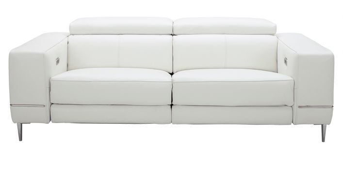 Bergamo Motion Sofa White Contemporary Modern Sofas Contemporary Modern Living Room Furniture Modern Sofa